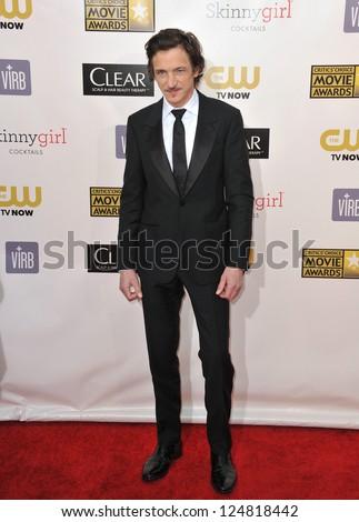 John Hawkes at the 18th Annual Critics' Choice Movie Awards at Barker Hanger, Santa Monica Airport. January 10, 2013  Santa Monica, CA Picture: Paul Smith - stock photo