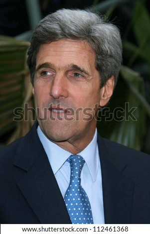 "John Kerry at an instore event to promote the new book ""This Moment on Earth"". Duttons Brentwood, Los Angeles, CA. 04-04-07"