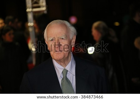 John le Carre attends the 'The Night Manager' premiere during the 66th Berlinale International Film Festival Berlin at Haus der Berlinale on February 18, 2016 in Berlin, Germany.