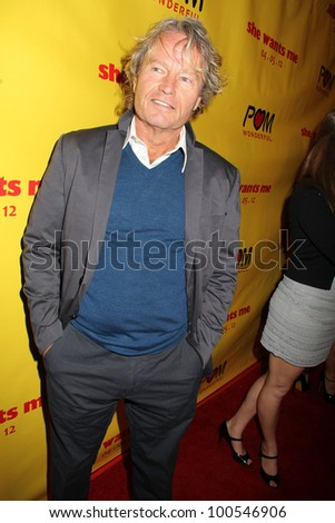 "John Savage at the ""She Wants Me"" Los Angeles Premiere,  Laemmle's Music Hall 3,  Beverly Hills, CA 04-05-12 - stock photo"