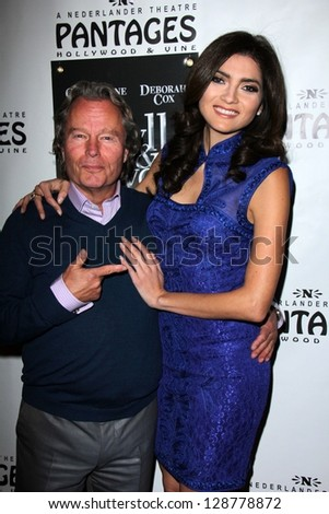 "John Savage, Blanca Blanco at the ""Jekyll & Hyde"" Premiere, Pantages, Hollywood, CA 02-12-13 - stock photo"