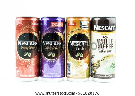 stock photo johor malaysia february th nescafe can drink nescafe is an instant coffee brand made by 581828176 Nescafe Coffee Mug Free Free Stock Photo Of Coffee Mug Nescafe