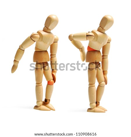 joints ache - stock photo