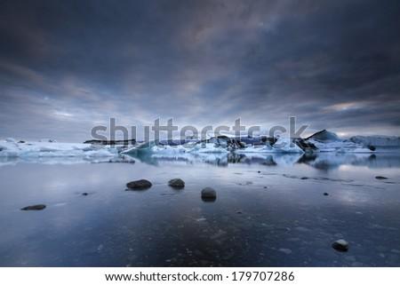 Jokulsarlon, Iceland /Jokulsarlon - stock photo