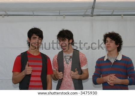 Jonas Brothers - stock photo