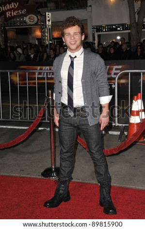 "Jonathan Lipnicki at the world premiere of ""Unstoppable"" at the Regency Village Theatre, Westwood. October 26, 2010  Los Angeles, CA Picture: Paul Smith / Featureflash"