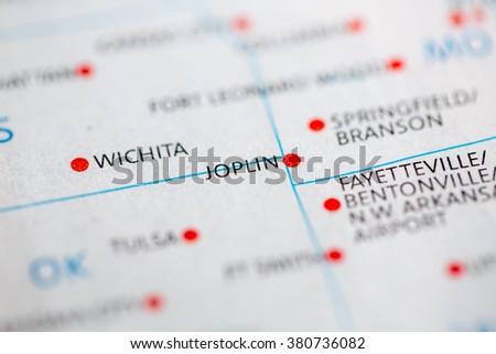Joplin. Missouri. USA - stock photo