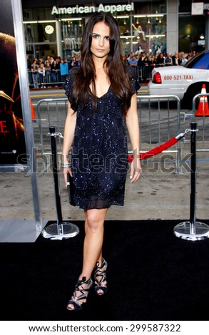 Jordana Brewster at the Los Angeles premiere of 'A Nightmare On Elm Street' held at the Grauman's Chinese Theatre in Hollywood on April 27, 2010.