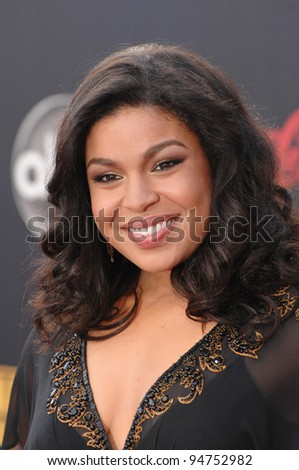 Jordin Sparks at the 2007 American Music Awards at the Nokia Theatre, Los Angeles. November 18, 2007  Los Angeles, CA Picture: Paul Smith / Featureflash