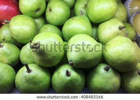 Josephine Pears or Pears - stock photo