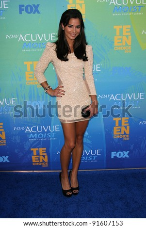 Josie Loren at the 2011 Teen Choice Awards, Universal Amphitheater, Universal City, CA. 08-07-11