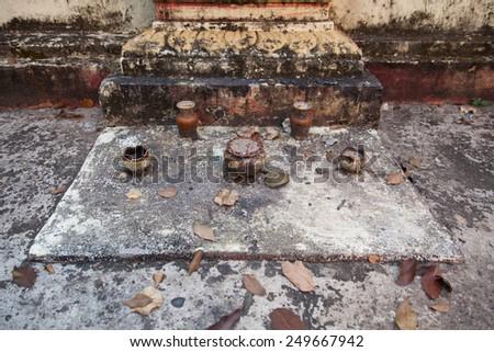 Joss grave - stock photo