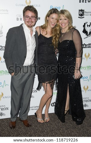 Joss Stone and Molly Bedingfield arriving for The Global Angels Awards 2012, The Brewery, London. 09/11/2012 Picture by: Simon Burchell - stock photo