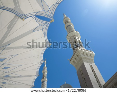Journey to Hajj in Mecca 2013 - stock photo