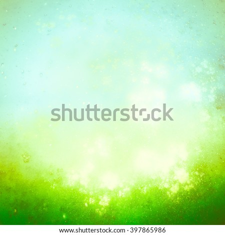 Joyful spring or summer fantastic texture in light pastel tones. Abstract image with a sense of lightness, freshness, sun-drenched surface - stock photo