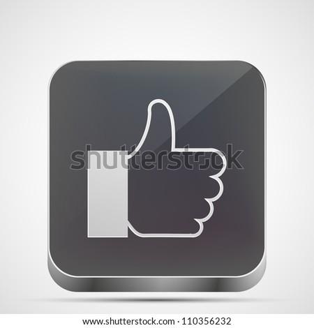 Jpeg version.  like app icon - stock photo