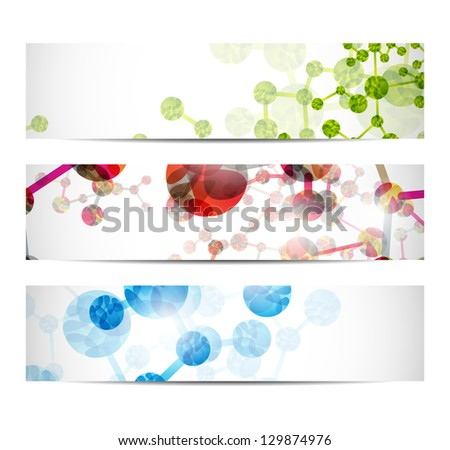 jpg, dna banner - stock photo