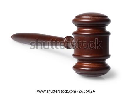 Judge's Gavel - stock photo