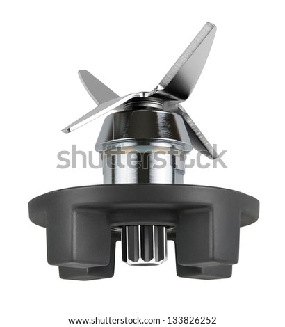 juicer knife on a white background isolated - stock photo