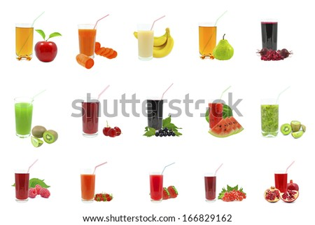 juices - stock photo