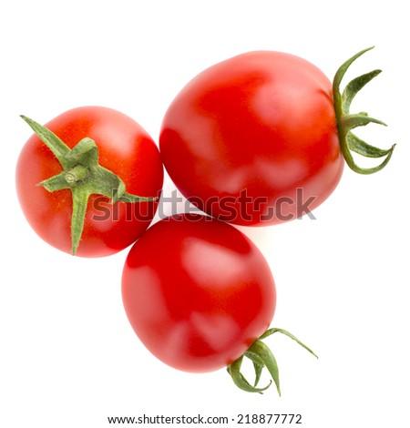 juicy tomatoes - stock photo