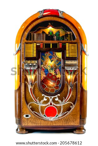 Jukebox - stock photo