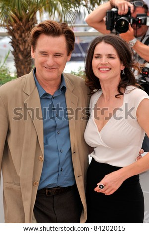 "Julia Ormond & Bill Pullman at photocall for their new movie ""Surveillance"" at the 61st Annual International Film Festival de Cannes. May 21, 2008  Cannes, France. Picture: Paul Smith / Featureflash"
