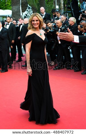 Julia Roberts at the Money Monster Premiere at the  69th Festival de Cannes. May 12, 2016  Cannes, France