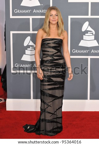 Julianne Hough at the 54th Annual Grammy Awards at the Staples Centre, Los Angeles. February 12, 2012  Los Angeles, CA Picture: Paul Smith / Featureflash