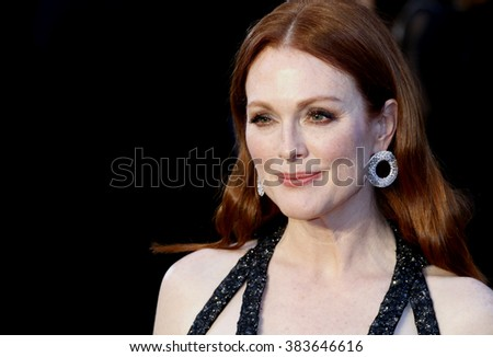 Julianne Moore at the 88th Annual Academy Awards held at the Hollywood & Highland Center in Hollywood, USA on February 28, 2016. - stock photo