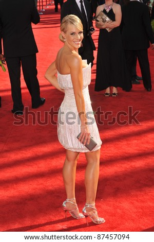 Julie Benz at the 61st Primetime Emmy Awards at the Nokia Theatre L.A. Live. September 20, 2009  Los Angeles, CA Picture: Paul Smith / Featureflash