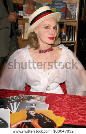 "Julie Newmar  at an in store appearance signing copies of the poster print series ""The Pussy Collection"". A Different Light Bookstore, West Hollywood, CA. 06-28-08"