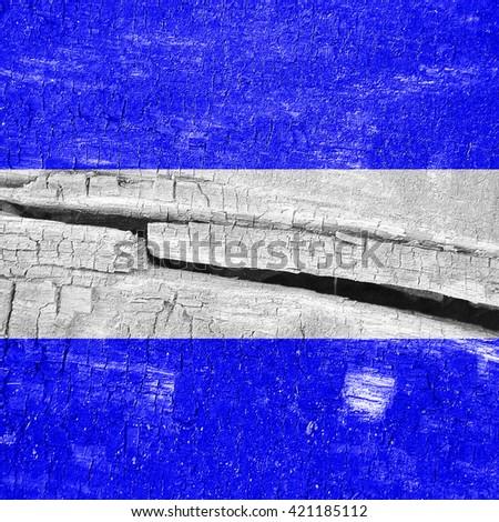 Juliet maritime signal flag - stock photo