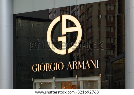 Image result for giorgio-armani brand