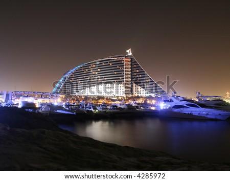 Jumeirah Beach Resort - stock photo