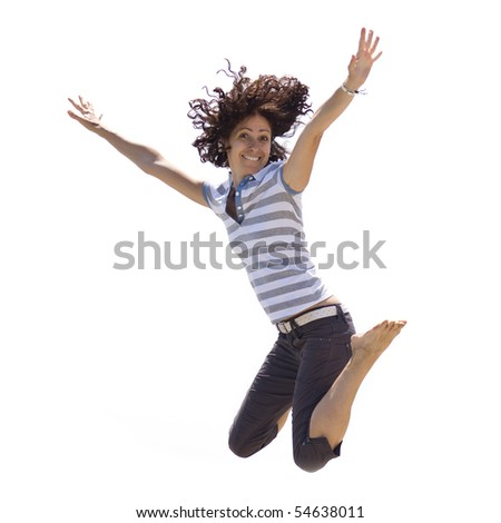 Jump! - stock photo