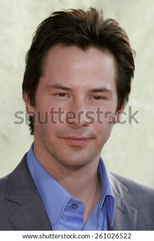 "June 13, 2006. Keanu Reeves attends the Los Angeles Premiere of ""The Lake House"" held at the ArcLight Cineramadome in Hollywood, California United States."