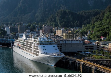 Juneau-city in the United States, the capital of the State of Alaska and the main port. This exotic North, where the mixed American culture tradition.   July 17, 2016