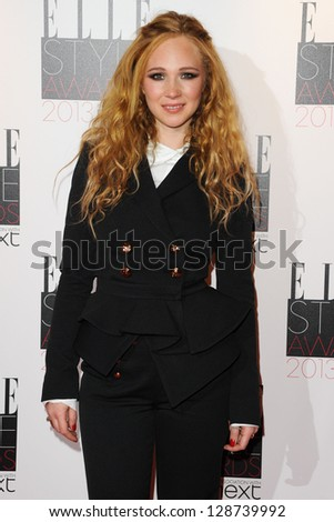 Juno Temple arriving at the 2013 Elle Style Awards, at The Savoy, London. 11/02/2013 Picture by: Steve Vas - stock photo