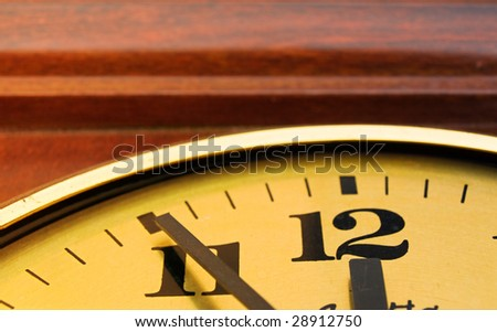 Just before deadline - stock photo