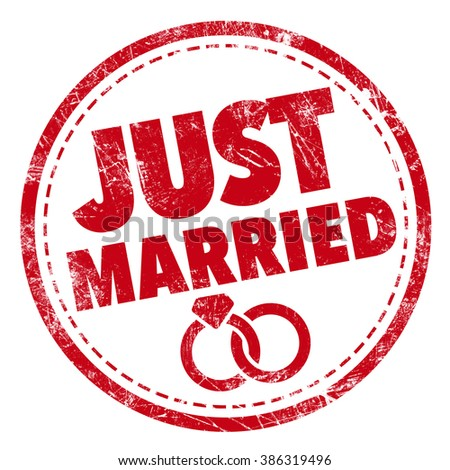 Just Married Rubber Stamp Stock Photos, Royalty-Free ...