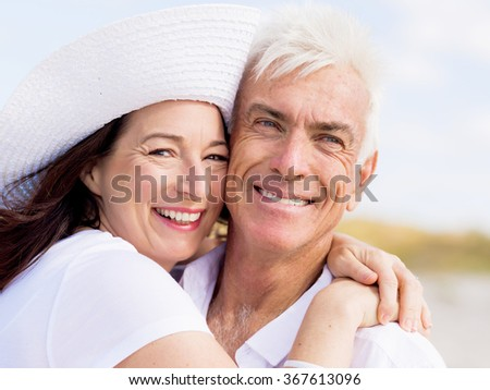 Just us and the ocean - stock photo