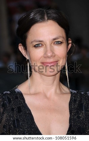 """Justine Bateman  at the World Premiere of """"Hancock"""". Grauman's Chinese Theatre, Hollywood, CA. 06-30-08 - stock photo"""