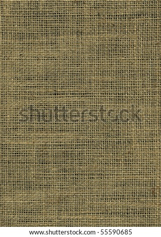Jute canvas texture - stock photo