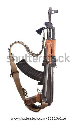 Kalashnikov assault rifle - stock photo