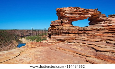 Kalbarri National Park, Western Australia - stock photo