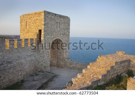 Kaliakra fortress in Bulgaria - stock photo