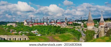Kamenets-Podolsky castle, Ukraine - stock photo