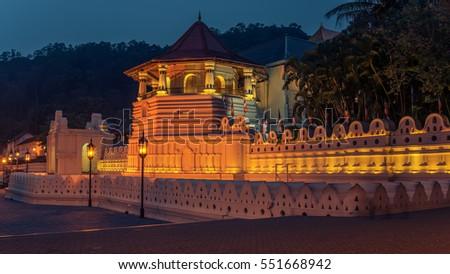 Sri Mariamman Hindu Temple Night Stock Photos &- Sri Mariamman ...