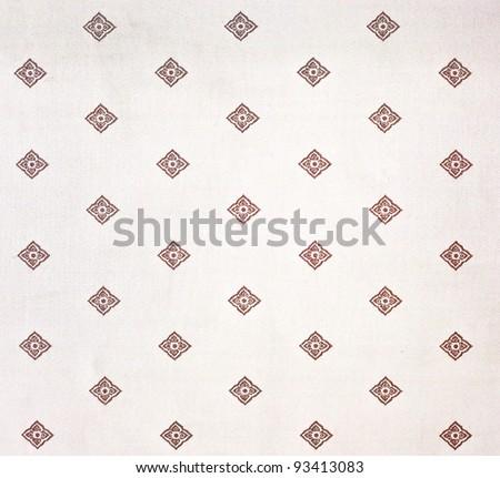 Kanok background as Thai style - stock photo